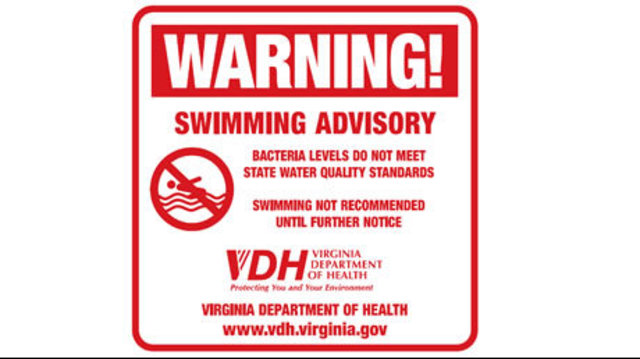 Swimming Advisories Issued For Several Newport News