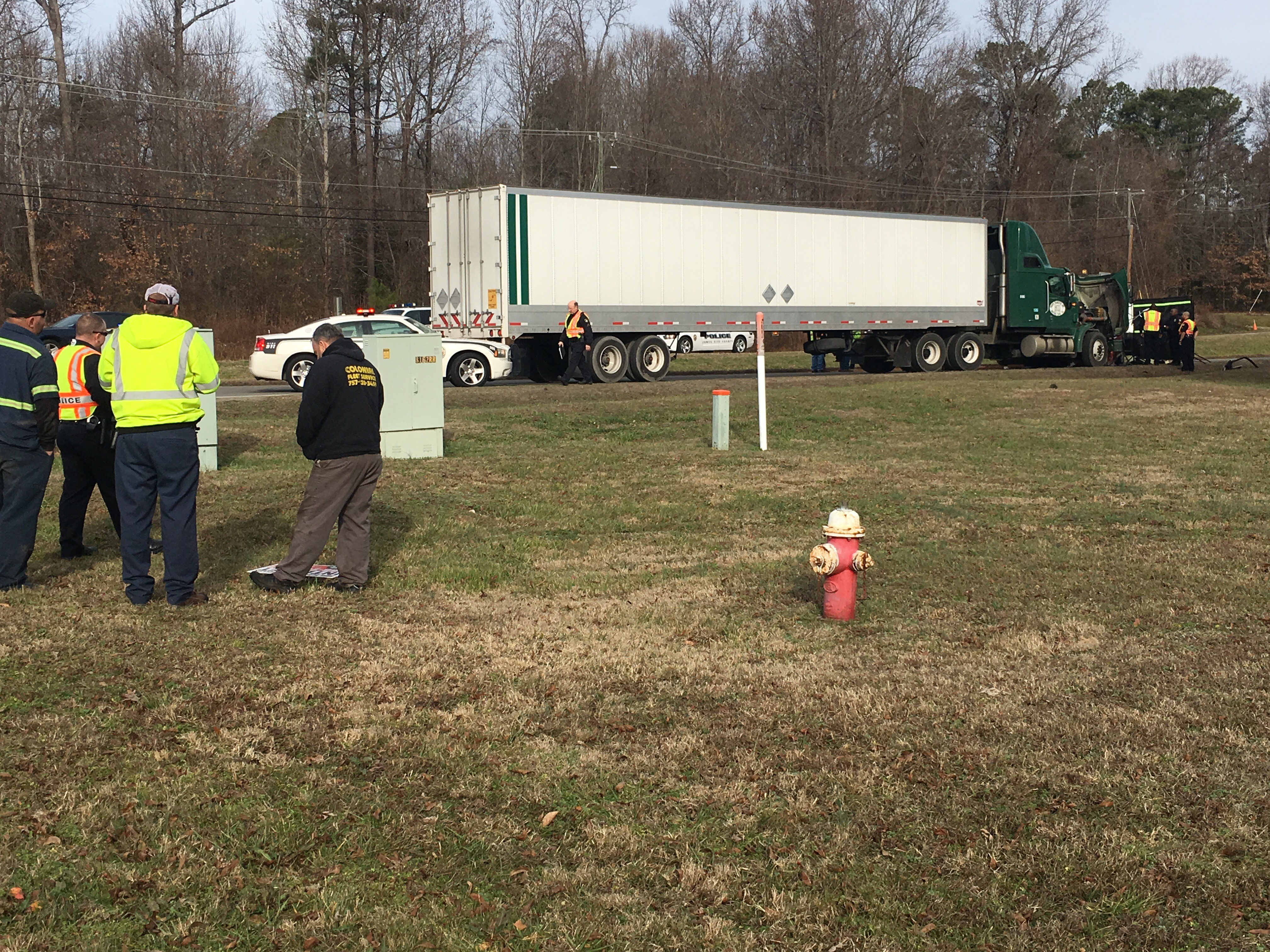 Tractor Trailer Head On : Woman dies in head on collision with tractor trailer