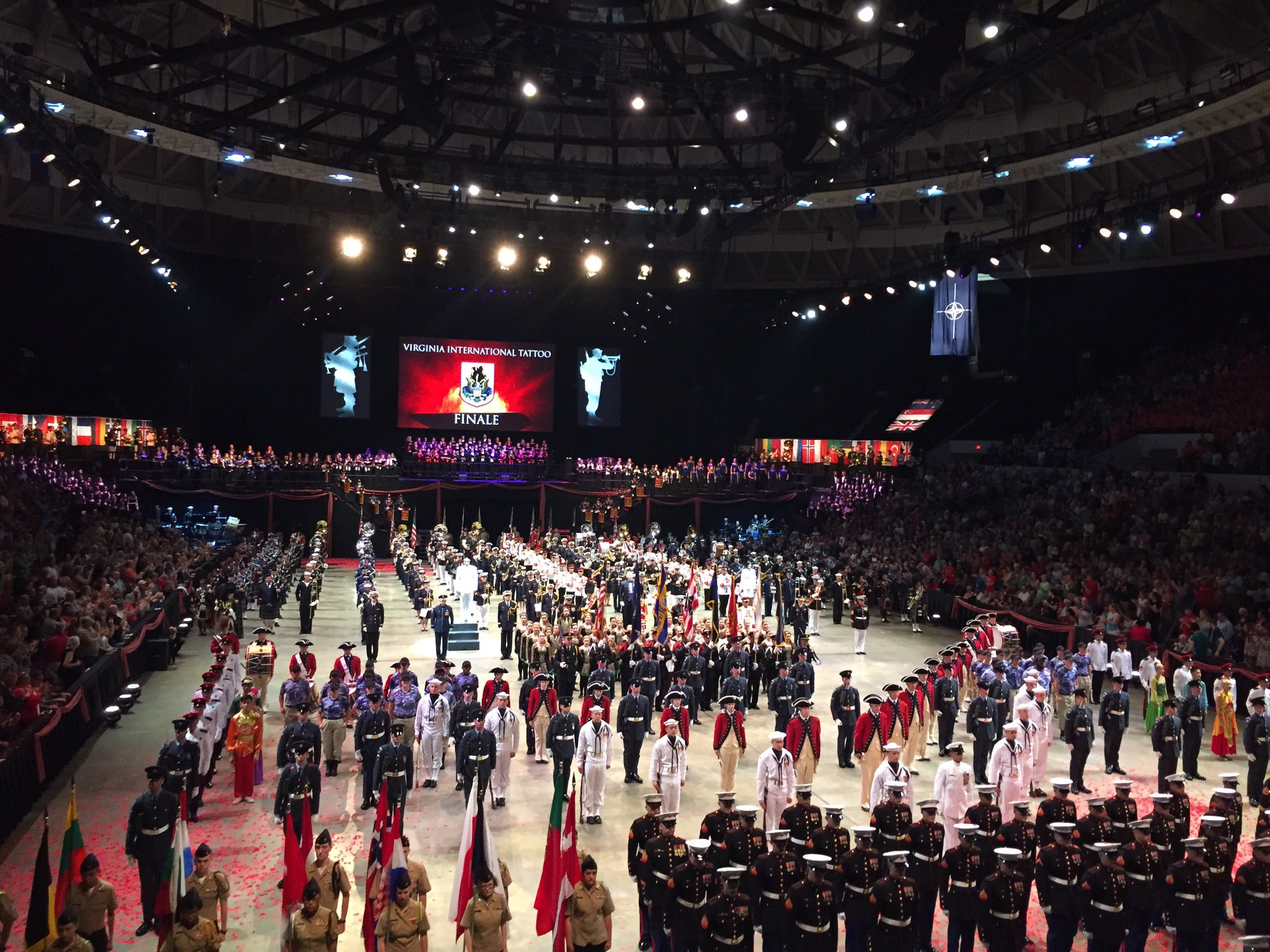 Final day of the virginia international tattoo for Virginia international tattoo 2017