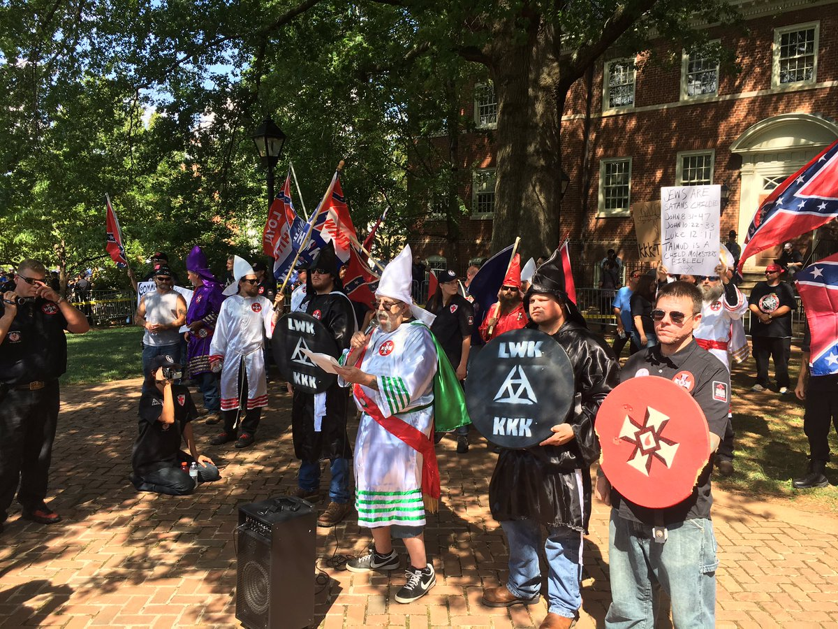 N.C.-based KKK group rallies in Charlottesville Saturday | WTSP.com