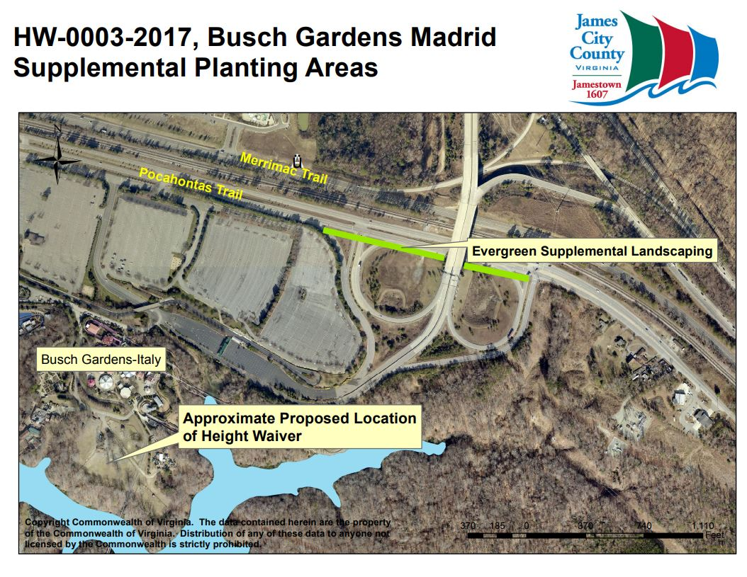 Busch Gardens Submits Plan To James City County For 315