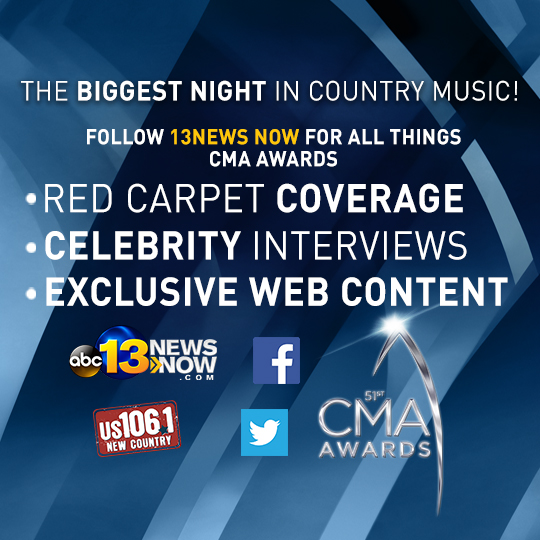 Exclusive looks at the 51st CMA Awards