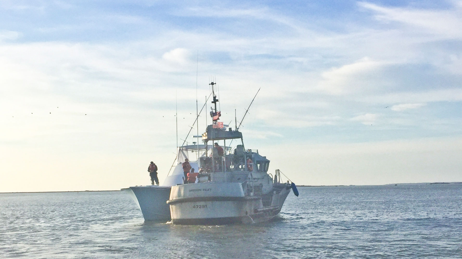 Coast guard comes to the aid of distressed for Oregon inlet bridge fishing report