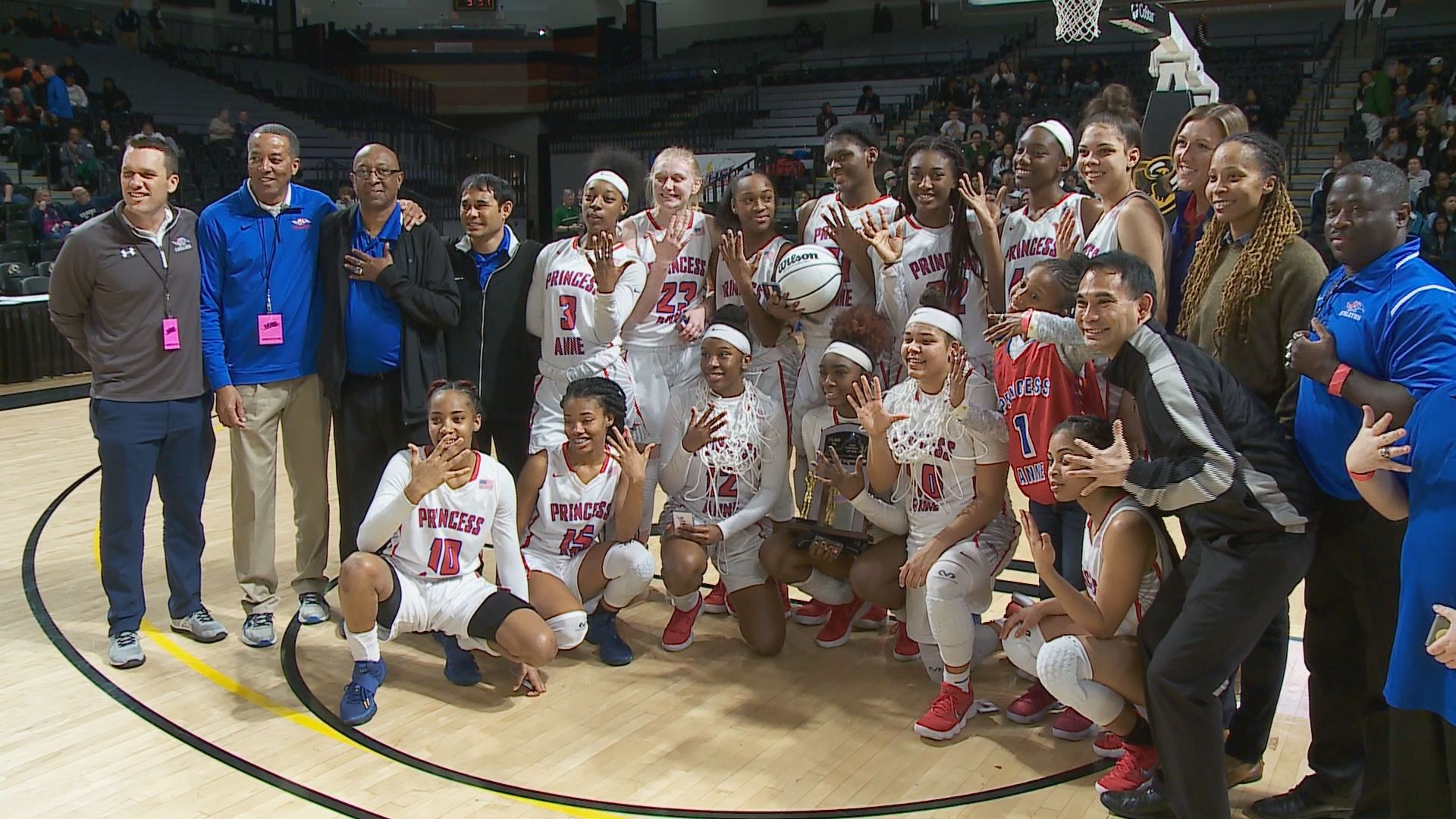 princess anne single girls Three area girls high school basketball teams have advanced to play for a state  championship.